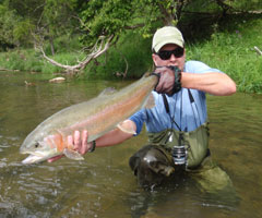 Casters fly shop stream and river reports for New river nc fishing