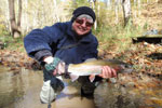 Adele w/ a Beautiful Hold-Over Rainbow from Big Cedar Creek
