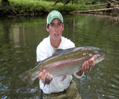 Casters fly shop north carolina river report for New river nc fishing
